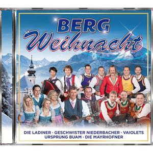 VARIOUS Bergweihnacht- CD