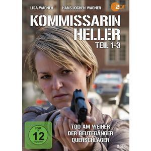Kommissarin Heller: Tod am Weiher / Der Beutegänger / Querschläger- DVD