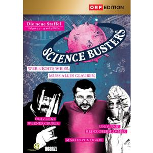 ORF EDITION Science Busters: Folgen 33-44- DVD