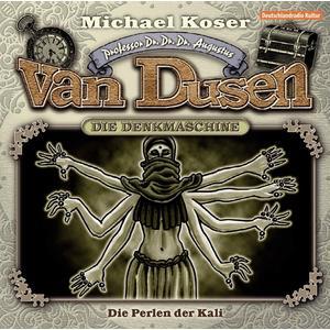 PROFESSOR VAN DUSEN Die Perlen der Kali (Neuauflage) - Folge 6- CD