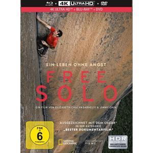 Free Solo (Mediabook)- DVD