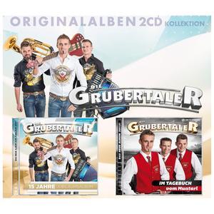 GRUBERTALER, DIE Originalalbum - 2CD Kollektion- DCD