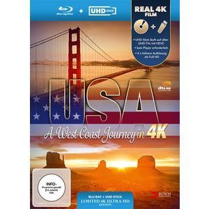 USA: A West Coast Journey (4K UHD + USB Stick)- Blu-Ray
