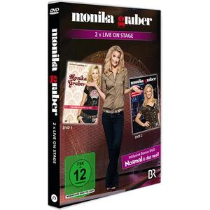 Monika Gruber: 2 x Live On Stage (inkl. Bonus-DVD)- DVD