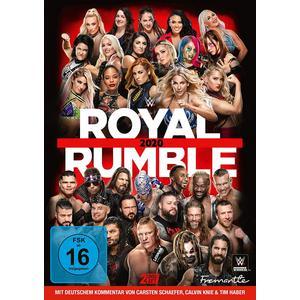 WWE Royal Rumble 2020- DVD
