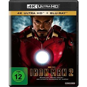 Iron Man 2 (4K UHD)- Blu-Ray