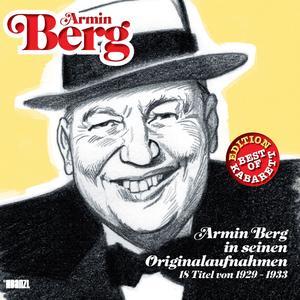 BoK BERG, ARMIN In seinen Originalaufnahmen 1929-33- CD