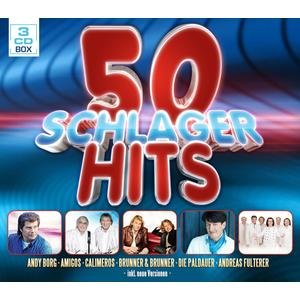 VARIOUS 50 Schlager Hits- DCD