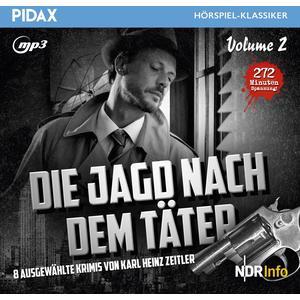 DIE JAGD NACH DEM TÄTER Die Jagd nach dem Täter, Vol. 2- CD