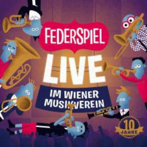 FEDERSPIEL Live im Wiener Musikverein- CD