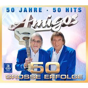 AMIGOS 50 Jahre - 50 Hits- CD
