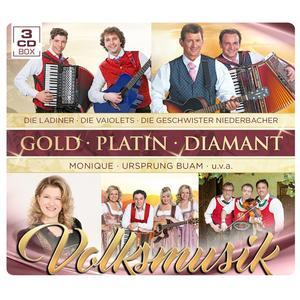 VARIOUS Volksmusik - Gold Platin Diamant- DCD