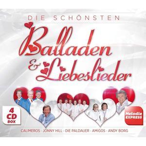VARIOUS Die schönsten Balladen & Liebeslieder- DCD