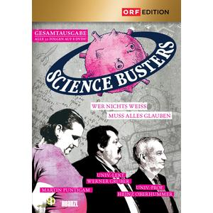 ORF EDITION Science Busters: Folgen 01-32- DVD