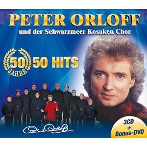 ORLOFF, PETER UND DER SCHWARZMEER KOSAKEN CHOR 50 Jahre - 50 Hits- DCD