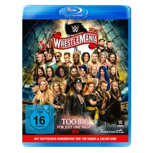 WWE Wrestlemania 36- Blu-Ray