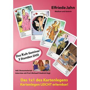JAHN, ELFRIEDE Das 1x1 des Kartenlegens- DVD