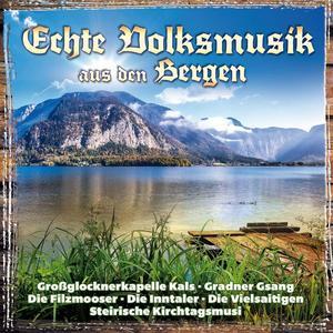 VARIOUS Echte Volksmusik aus den Bergen- DCD