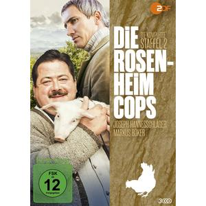 Die Rosenheim-Cops: Staffel 02#- DVD