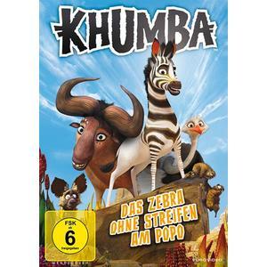 Khumba: Das Zebra ohne Streifen am Popo- DVD