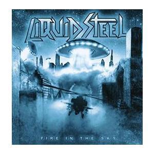 LIQUID STEEL Fire in the sky- CD