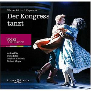 HEYMANN, WERNER RICHARD Der Kongress tanzt- CD