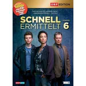 ORF EDITION Schnell ermittelt: Staffel 6- DVD
