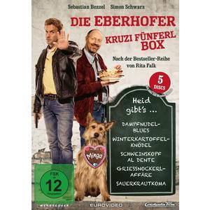 Eberhoferkrimi: Kruzifünferl Box#- DVD