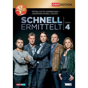 ORF EDITION Schnell ermittelt: Staffel 4- DVD