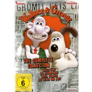 WALLACE & GROMIT Complete Collection#- DVD