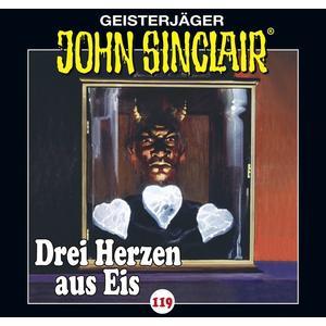 JOHN SINCLAIR Drei Herzen aus Eis: Teil 1 von 4 - Folge 119- CD
