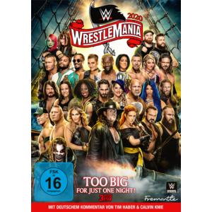 WWE Wrestlemania 36- DVD