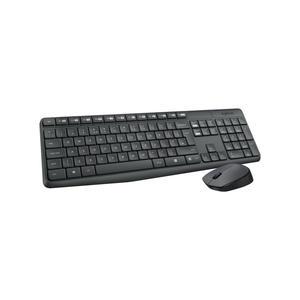 Logitech Wireless Desktop MK235, USB, DE