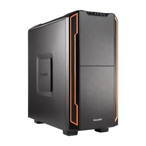 be quiet! Silent Base 600 orange, schallgedämmt, ohne Netzteil