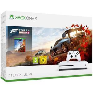 Microsoft Xbox One S - 1TB Forza Horizon 4 Bundle weiß