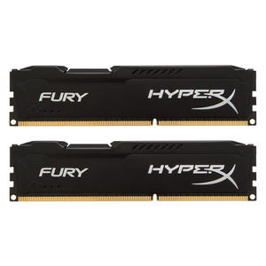 Kingston HyperX FURY schwarz DIMM 16GB Kit (2x 8GB), DDR3-1866, CL10