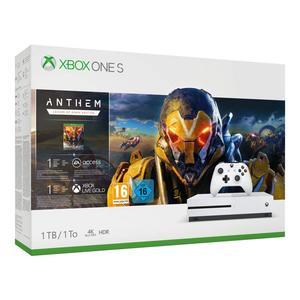 Microsoft Xbox One S - 1TB Anthem Bundle weiß