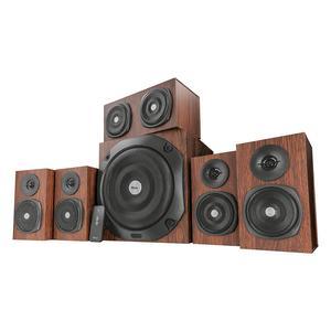 Trust Vigor 5.1 Surround Speaker System, braun