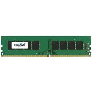 Crucial DIMM 4GB, DDR4-2400, CL17