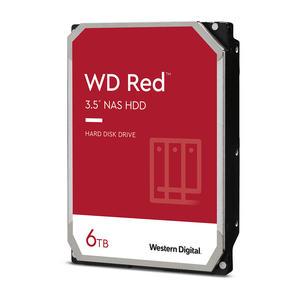 Western Digital WD Red 6TB, WD60EFAX, SATA 6Gb/s