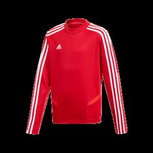 adidas Kinder Sweater Tiro 19 Training Top rot/weiß