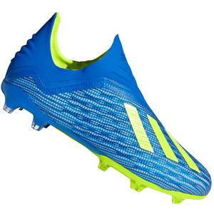adidas Kinder Fußballschuh X 18+ FG J blau/gelb fluo