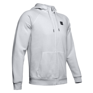 Under Armour Kapuzenjacke Rival Fleece Hoody hellgrau/schwarz