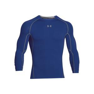 Under Armour Langarm Funktionsshirt HeatGear Compression Top blau