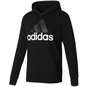 adidas Kapuzenpullover Essentials Linear Hoody schwarz/weiß