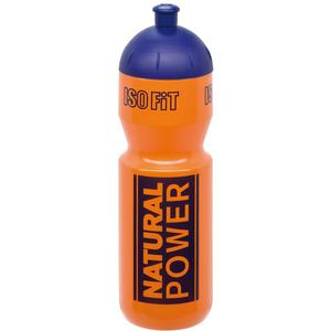 Natural Power Trinkflasche 1000 ml orange/blau
