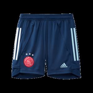 adidas Ajax Amsterdam Kinder Trainingsshort dunkelblau/hellblau