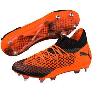 Puma Fußballschuh Future 2.1 Netfit Mx SG orange/schwarz
