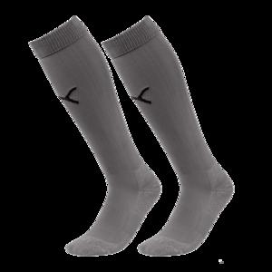 Puma Stutzen Liga Core Socks grau/schwarz