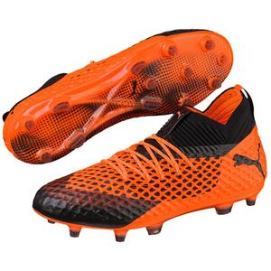 Puma Fußballschuh Future 2.1 Netfit FG/AG orange/schwarz